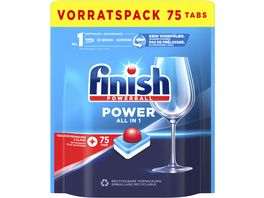 Finish All in 1 Spuelmaschinentabs Vorratspack