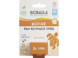 Biobaula OeKO Kuechen Reiniger Tabs
