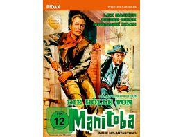Die Hoelle von Manitoba Remastered Edition Neue HD Abtastung Mit dem PRAeDIKAT WERTVOLL ausgezeichneter Western mit Lex Barker und Pierre Brice Pidax Western Klassiker