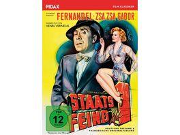 Staatsfeind Nr 1 L ennemi Public No 1 Herrliche Gangsterkomoedie mit Fernandel und Zsa Zsa Gabor Pidax Film Klassiker