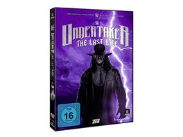 WWE Undertaker The Last Ride 2 DVDs