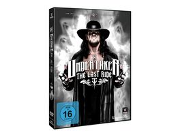 WWE Undertaker The Last Ride Limited Edition 2 DVDs