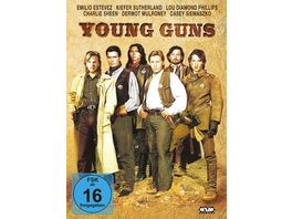 Young Guns Mediabook DVD