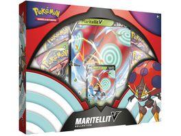 Pokemon Sammelkartenspiel Maritellit V Box DE