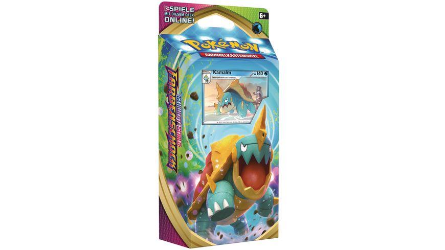 Pokemon Sammelkartenspiel Schwert Schild Farbenschock Themendeck DE 1 Stueck sortiert