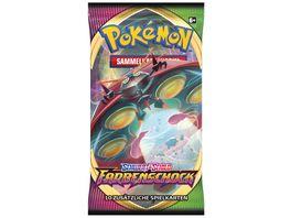 Pokemon Sammelkartenspiel Schwert Schild Farbenschock Booster DE 1 Stueck