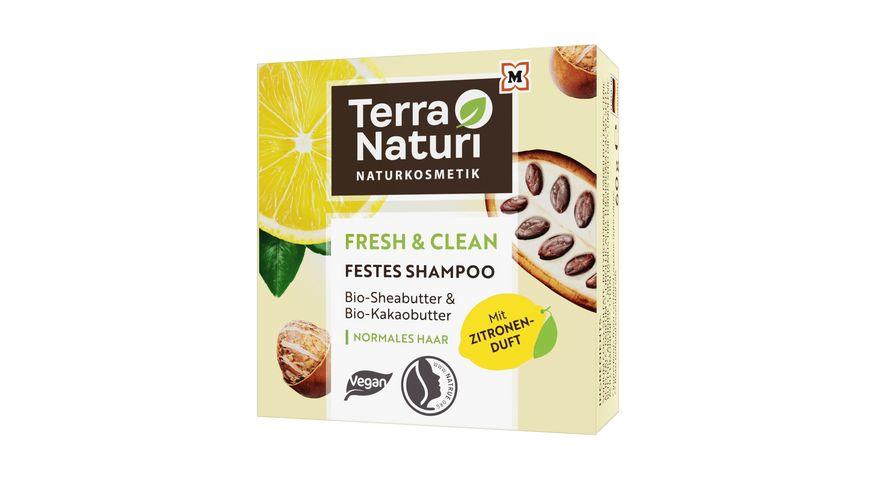 Terra Naturi Fresh & Clean Festes Shampoo normales Haar