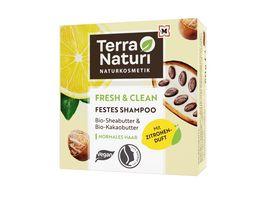 Terra Naturi Fresh Clean Festes Shampoo normales Haar