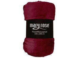 Maryrose Flanellfleecedecke 150x200cm