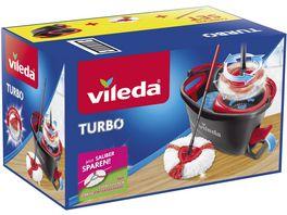 vileda TURBO Box inkl gratis 2in1 Turbo Ersatzbezug
