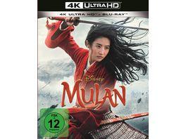 Mulan 4K Ultra HD Blu ray 2D