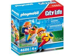 PLAYMOBIL 4686 City Life Erster Schultag