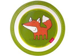 sigikid Melamin Teller Forest Fox
