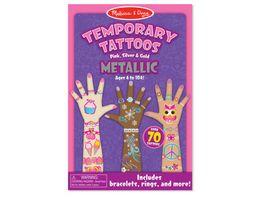 Melissa Doug Temporary Tattoos Metallic