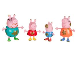 PEPPA Peppa 4er Spielfigurenpack Matschepfuetze