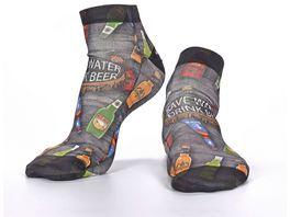 wigglesteps Herren Sneaker Socken Drink Beer