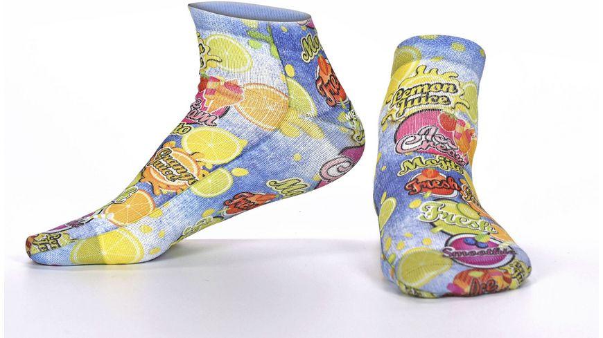 wigglesteps Damen Sneaker Socken Citrus