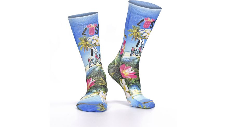 wigglesteps Damen Socken Lost In Bali