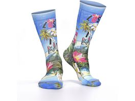 wigglesteps Damen Socken Lost In Bali