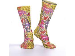 wigglesteps Damen Socken Mona Lisa