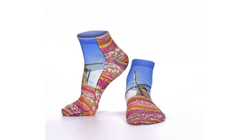 wigglesteps Damen Sneaker Socken Netherlands