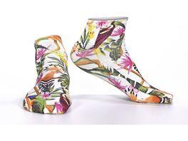 wigglesteps Damen Sneaker Socken Birds