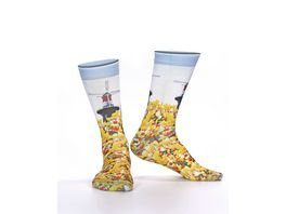 wigglesteps Damen Socken Mill Flowers