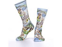 wigglesteps Damen Socken Koala