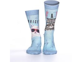 wigglesteps Damen Socken Cool Cats