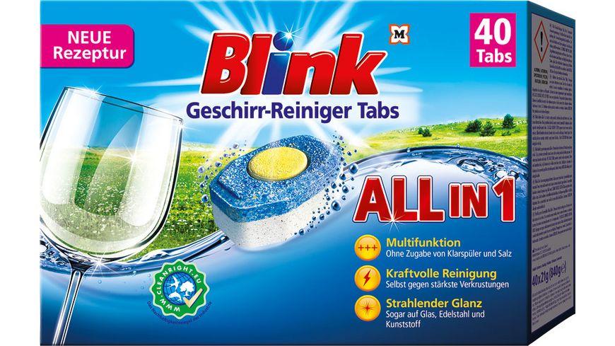 Blink Geschirr-Reiniger Tabs All in 1