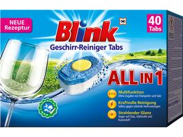 Blink Geschirr Reiniger Tabs All in 1