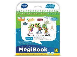 VTech MagiBook Lernstufe 2 Reise um die Welt 3D