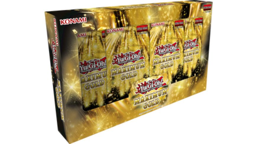 Yu Gi Oh Sammelkartenspiel Maximum Gold