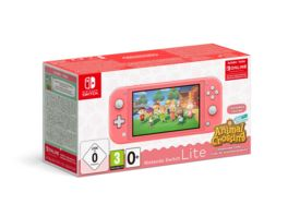 Nintendo Switch Lite Koralle Animal Crossing