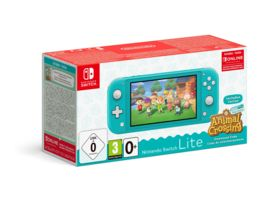 Nintendo Switch Lite Tuerkis Animal Crossing