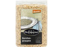 BioGourmet Gerstengraupen