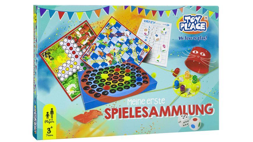 Müller - Toy Place - Meine erste Spielesammlung - 5 Spieleklassiker für Kinder