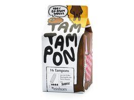 einhorn Bio Tampons TamTampon super