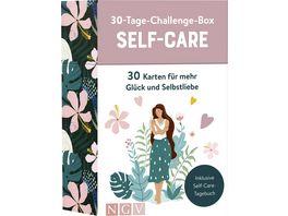 30 Tage Challenge Box Self Care 30 Karten fuer mehr Glueck und Selbstliebe