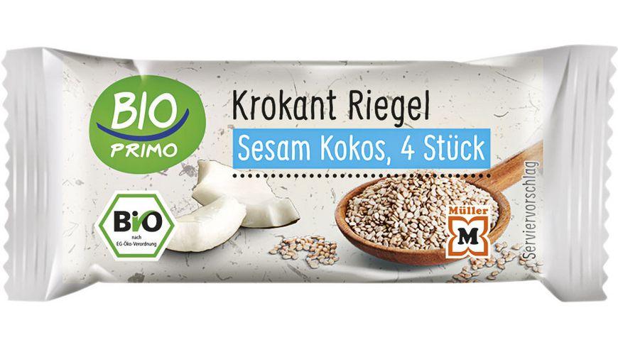 BIO PRIMO Sesam-Krokant-Kokos Riegel
