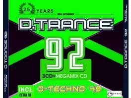 D Trance 92 incl D Techno 49