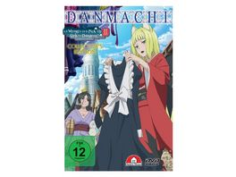 DanMachi Is It Wrong to Try to Pick Up Girls in a Dungeon Staffel 2 DVD Vol 3 Limited Collector s Edition