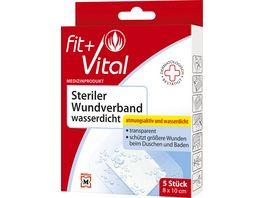 Fit Vital Steriler Wundverband wasserdicht