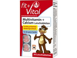 Fit Vital Calcium Multivitamin Lutschtabletten