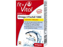 Fit Vital Omega 3 1 000 Kapseln