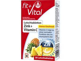 Fit Vital Zink Vitamin C Lutschtabletten