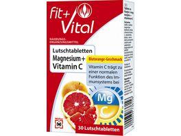 Fit Vital Magnesium Vitamin C Lutschtabletten