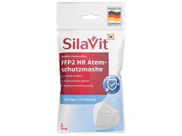 Fit Vital Atemschutzmaske FFP2 NR mit Ventil Persoenliche Schutzausruestung Kategorie III