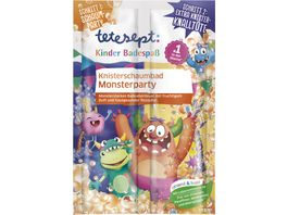 tetesept Kinder Badespass Knisterschaumbad Monsterparty