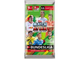 Topps Bundesliga Match Attax 20 21 Mega Paeckchen 11 Karten